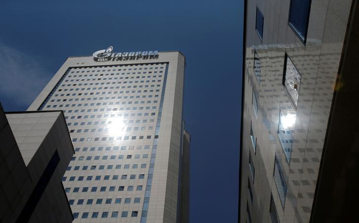 A general view shows the headquarters of Gazprom in Moscow, Russia, June 30, 2016. REUTERS/Maxim Shemetov/File Photo