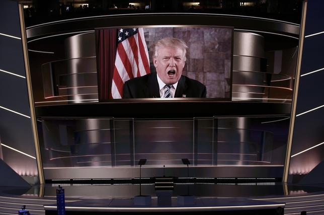 11月10日、米大統領選の結果は、リベラルな世界秩序に対する米国の揺るぎない支持が失われつつあることを明確に示したに違いない。写真は、次期米大統領となったドナルド・トランプ氏(写真)。オハイオ州で7月撮影(2016年 ロイター/Mike Segar)