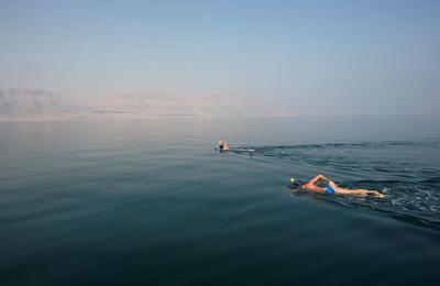 Braving the Dead Sea