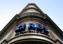 A Royal Bank of Scotland branch is seen in London, Britain February 21, 2009.     REUTERS/Luke MacGregor/File Photo