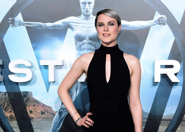 Cast member Evan Rachel Wood attends the premiere of the HBO series ''Westworld'' in Hollywood, California, U.S. September 28, 2016.  REUTERS/Phil McCarten/File Photo