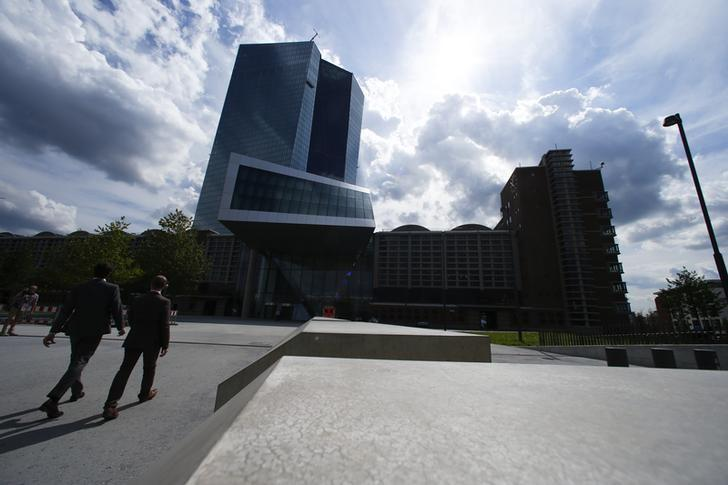 The European Central Bank (ECB) headquarters are pictured in Frankfurt, Germany, September 3, 2015. REUTERS/Ralph Orlowski/Files