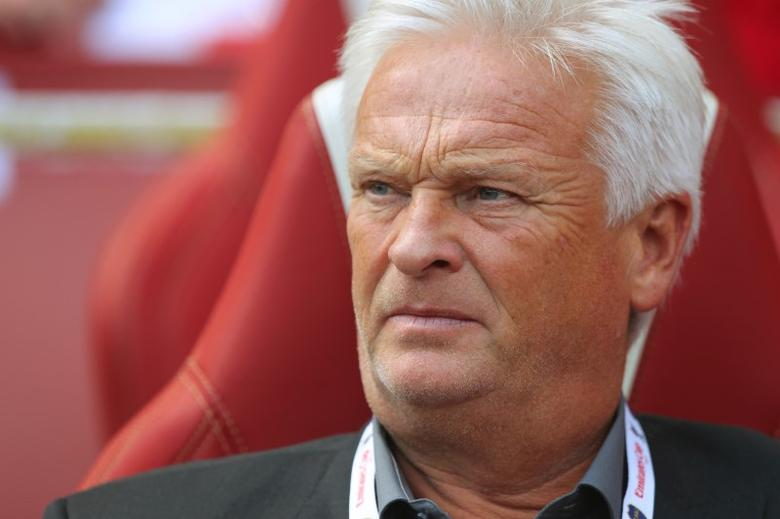 Hans Backe - New York Red Bulls Head Coach Mandatory Credit: Action Images / Jed Leicester