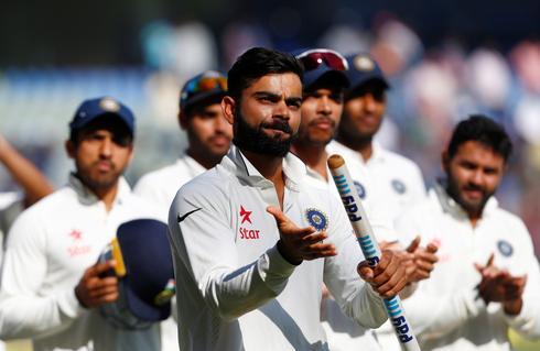 Fourth test: India v England