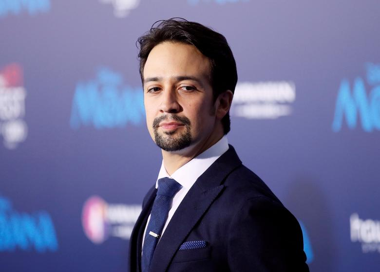 Actor and composer Lin-Manuel Miranda poses at the world premiere of Walt Disney Animation Studios' ''Moana'' as a part of AFI Fest in Hollywood, California, U.S., November 14, 2016. REUTERS/Danny Moloshok