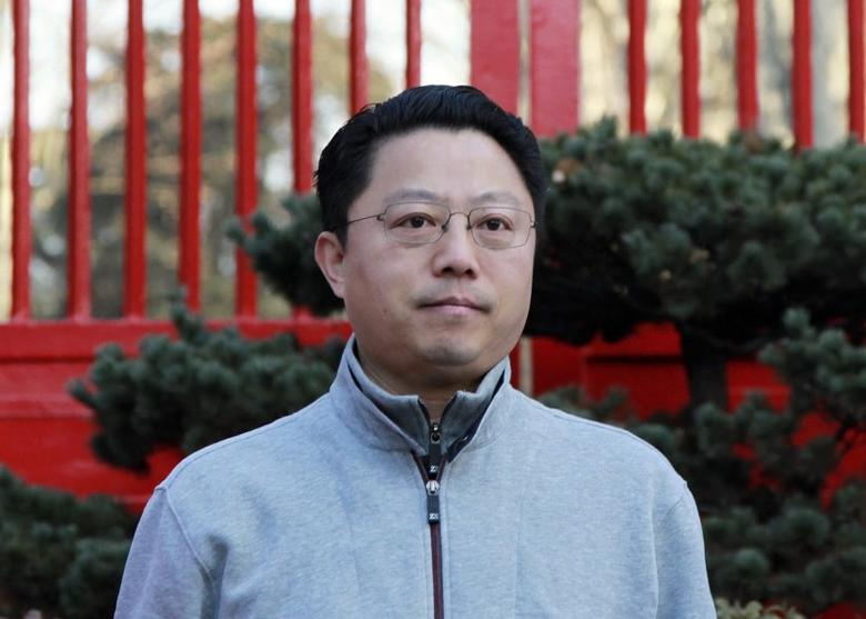 Yang Weize, Communist Party Secretary  of Nanjing attends a running event in Nanjing, Jiangsu province January 1, 2015. REUTERS/Stringer