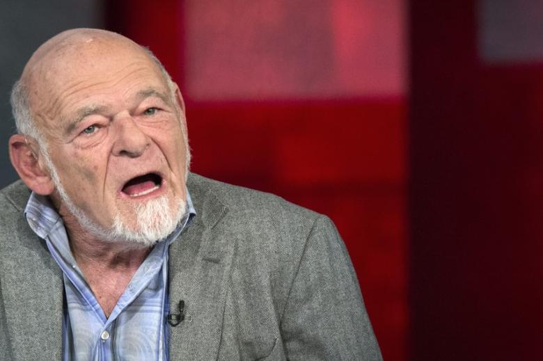 Sam Zell, chairman of Equity Group Investments, appears on Fox Business Network's show ''Opening Bell with Maria Bartiromo'' in New York June 10, 2014. REUTERS/Brendan McDermid