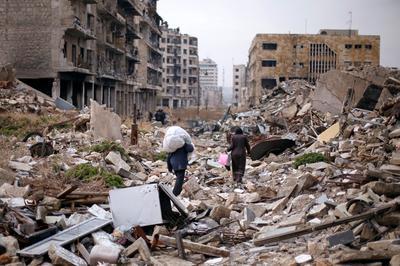 Leaving Aleppo