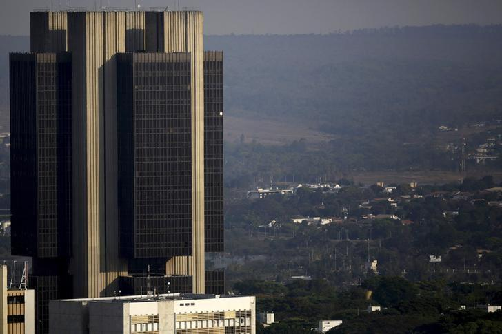 A view is seen of the central bank headquarters in Brasilia, Brazil, September 23, 2015. REUTERS/Ueslei Marcelino/Files