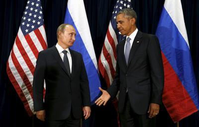 Obama and Putin over the years