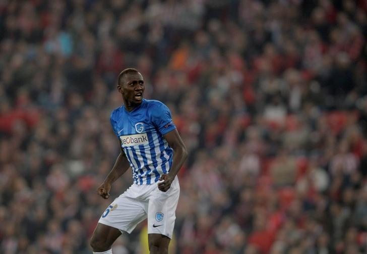 Football Soccer - Athletic Bilbao v KRC Genk - UEFA Europa League Group Stage - Group F - San Mames, Bilbao, Spain - 03/11/16 - KRC Genk's Wilfred Ndidi celebrates after scoring. REUTERS/Vincent West/Files