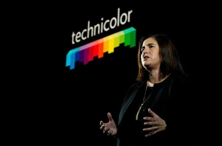 Sandra Carvalho, Chief Marketing Officer of Technicolor, speaks during the LG press conference at CES in Las Vegas, U.S., January 4, 2017. REUTERS/Rick Wilking