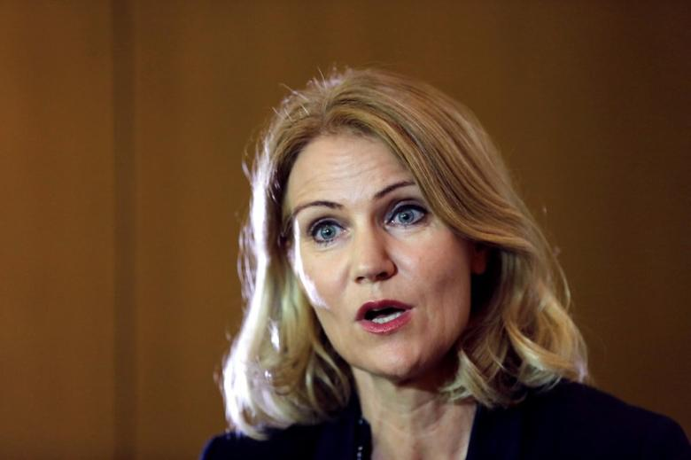 Former Danish Prime Minister and CEO of Save the Children International Helle Thorning-Schmidt speaks during an interview with Reuters in Athens, Greece, July 15, 2016. REUTERS/Alkis Konstantinidis