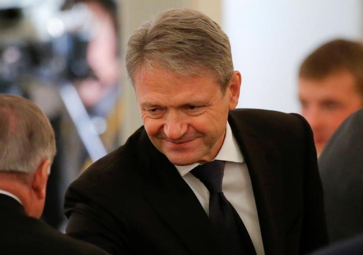 Russian Agriculture Minister Alexander Tkachev waits before an annual state of the nation address attended by Russian President Vladimir Putin at the Kremlin in Moscow, Russia, December 1, 2016. REUTERS/Maxim Shemetov