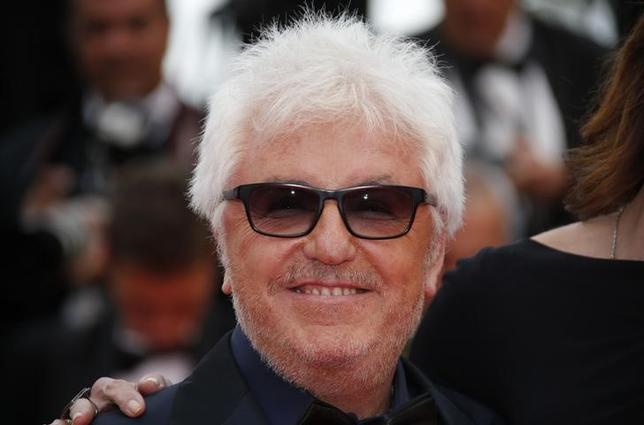 1月31日、カンヌ国際映画祭組織委員会は、今年5月17─28日に開催予定の第70回カンヌ国際映画祭の審査員長は、スペインのペドロ・アルモドバル監督(67、写真)が務めると発表した。写真は昨年5月撮影(2017年 ロイター/Jean-Paul Pelissier)