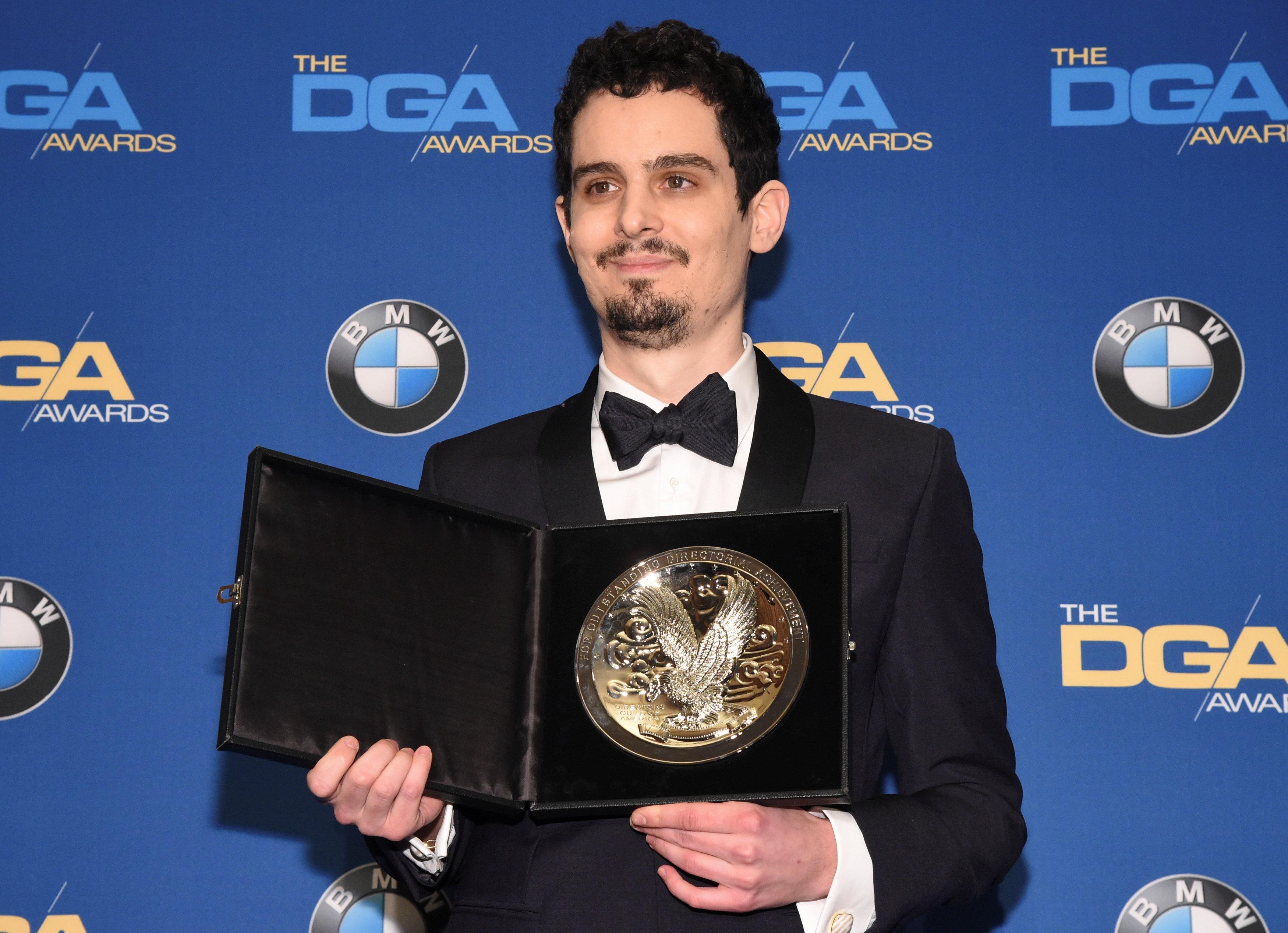 La La Land' director Chazelle wins top DGA award, stoking