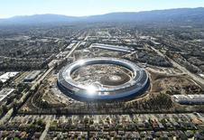 El Campus 2 de Apple en Cupertino en una fotografía aérea.  13 de enero de 2017. REUTERS/Noah Berger