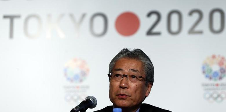 Japan Olympic Committee President Tsunekazu Takeda speaks during a news conference in support of the Tokyo 2020 summer Olympics candidacy in Buenos Aires September 4, 2013. REUTERS/Marcos Brindicci/Files