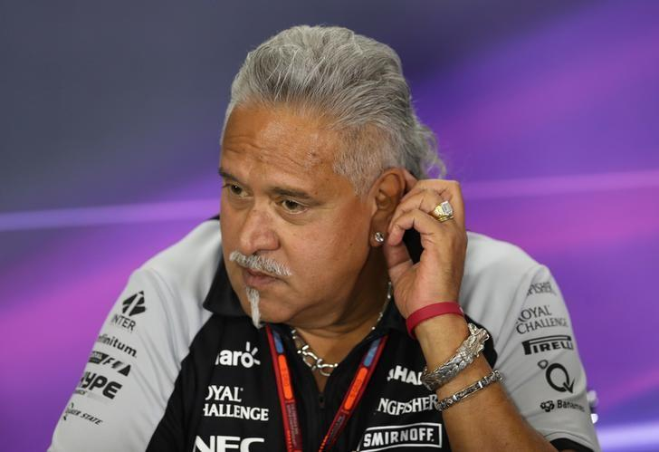 Britain Formula One - F1 - British Grand Prix 2016 - Silverstone, England - 8/7/16Force India team principal Vijay Mallya during the press conferenceAction Images via Reuters / Matthew Childs/Livepic/Files