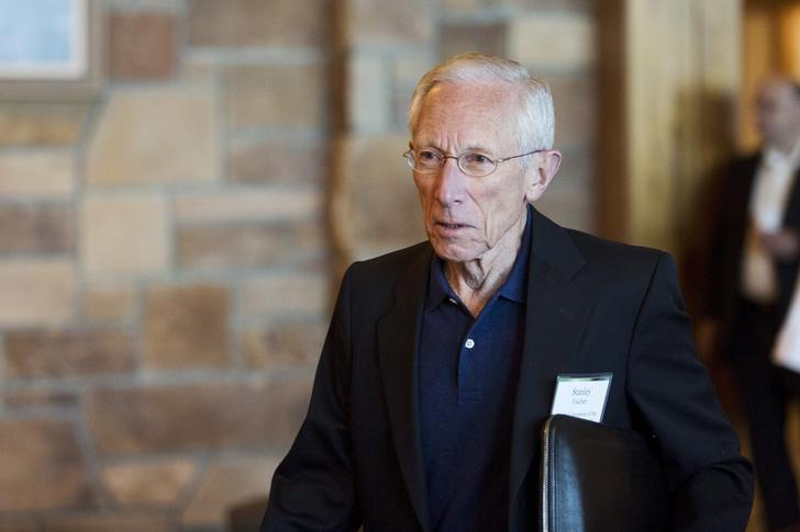Federal Reserve Vice Chairman Stanley Fischer attends the Federal Reserve Bank of Kansas City's annual Jackson Hole Economic Policy Symposium in Jackson Hole, Wyoming August 28, 2015. REUTERS/Jonathan Crosby/File Photo