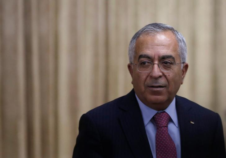 Salam Fayyad attends an opening reception of Conference on Cooperation among East Asian Countries for Palestinian Delevopment (CEAPAD) in Tokyo February 13, 2013. REUTERS/Issei Kato/File Photo