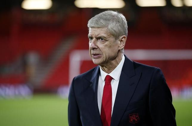 Britain Football Soccer - AFC Bournemouth v Arsenal - Premier League - Vitality Stadium - 3/1/17 Arsenal manager Arsene Wenger before the match  Action Images via Reuters / Matthew Childs Livepic/Files