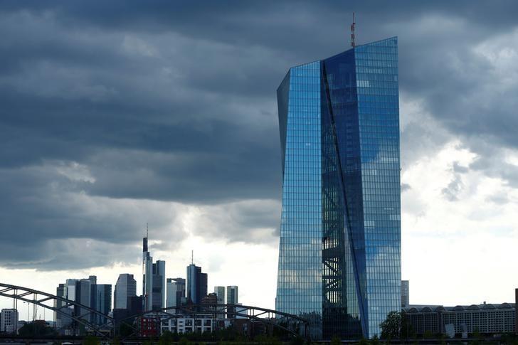 FILE PHOTO:  European Central Bank (ECB) headquarters in Frankfurt, Germany, July 29, 2016.   REUTERS/Ralph Orlowski/File Photo
