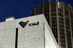 Logo da Vale na sede da empresa no centro do Rio de Janeiro, no Brasil 20/08/2014 REUTERS/Pilar Olivares/File Photo