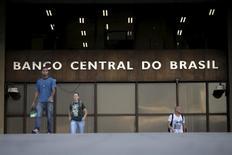 Sede del Banco Central de Brasil, en Brasilia. 23/09/2015. El Banco Central de Brasil mantuvo el miércoles su ritmo de recortes de tasas de interés como se esperaba, pero señaló que sus autoridades podrían intensificar el alivio monetario en un intento por reactivar una economía que atraviesa por la peor recesión en su historia. REUTERS/Ueslei Marcelino