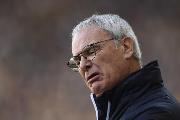 Britain Soccer Football - Millwall v Leicester City - FA Cup Fifth Round - The New Den - 18/2/17 Leicester City manager Claudio Ranieri  Action Images via Reuters / Tony O'Brien Livepic