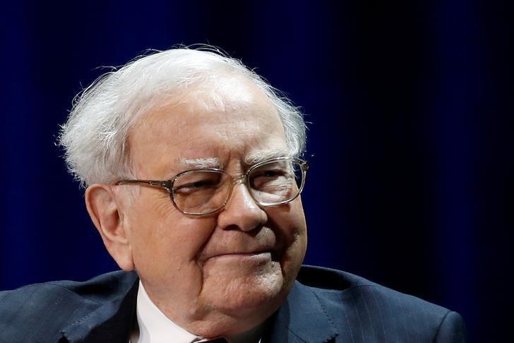 1月27日,美国投资大鳄巴菲特(Warren Buffett)在纽约出席活动的资料图。REUTERS/Shannon Stapleton