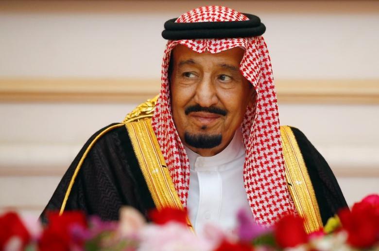 Saudi Arabia's King Salman attends a Memorandum of Understanding signing ceremony in Putrajaya, Malaysia February 27, 2017. REUTERS/Edgar Su