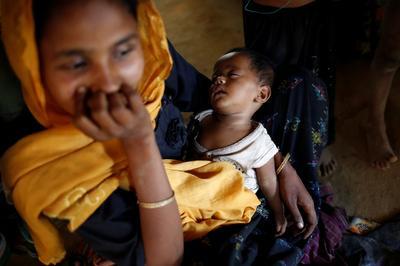 Inside a Rohingya refugee camp