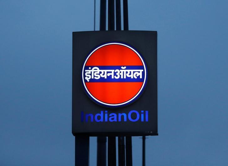 A logo of Indian Oil is picture outside a fuel station in New Delhi, India August 29, 2016. REUTERS/Adnan Abidi -