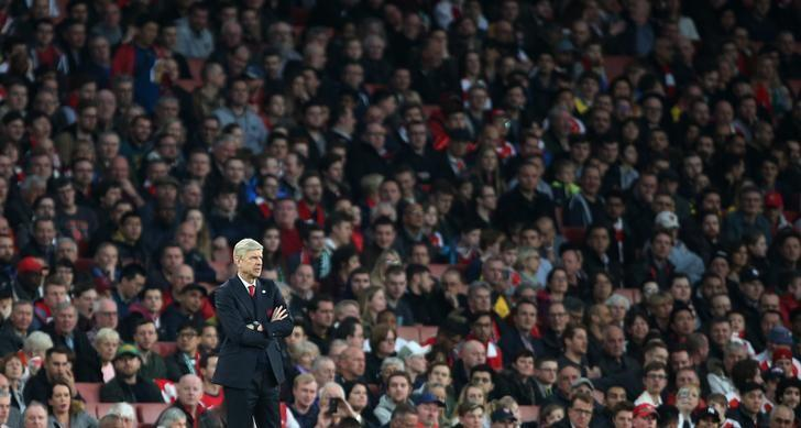 Britain Football Soccer - Arsenal v Lincoln City - FA Cup Quarter Final - The Emirates Stadium - 11/3/17 Arsenal manager Arsene Wenger  Reuters / Paul Hackett