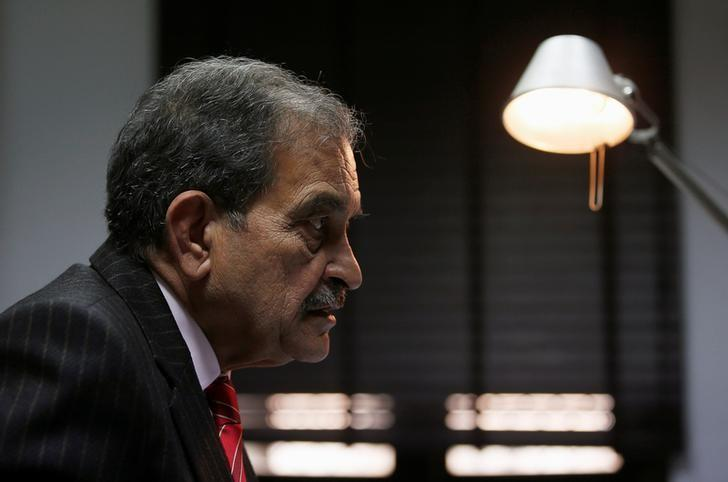 Steel Minister Chaudhary Birender Singh speaks during an interview with Reuters in New Delhi, December 9, 2016. REUTERS/Adnan Abidi