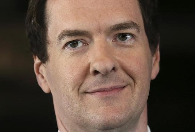 FILE PHOTO - Britain's Chancellor of the Exchequer, George Osborne, speaks at The Times CEO summit in London, Britain June 28, 2016.   REUTERS/Neil Hall/File Photo