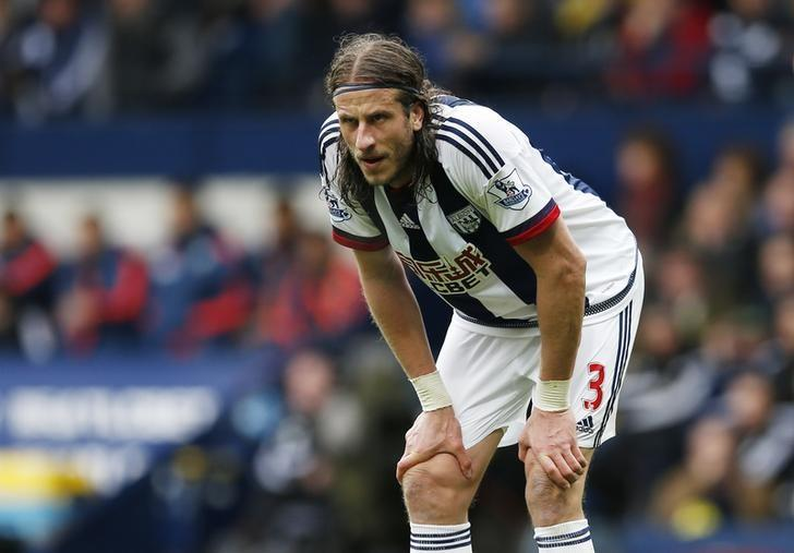 Britain Football Soccer - West Bromwich Albion v West Ham United - Barclays Premier League - The Hawthorns - 30/4/16West Bromwich Albion's Jonas OlssonAction Images via Reuters / Andrew BoyersLivepic/Files
