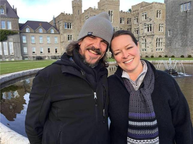 Kurt Cochran and his wife Melissa.   Courtesy the Payne family/REUTERS