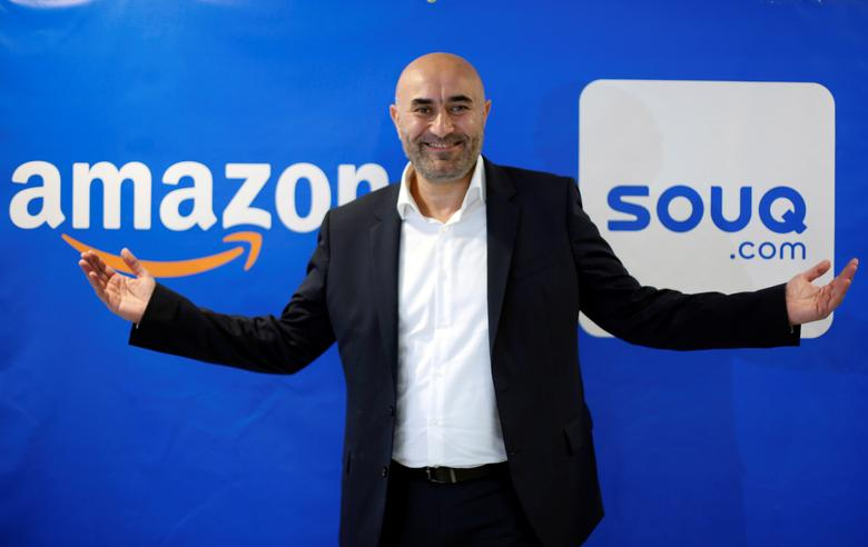 Souq.com Co-Founder Ronaldo Mouchawar, poses for camera at Souq.com in Dubai, United Arab Emirates March 28, 2017. REUTERS/Ahmed Jadallah