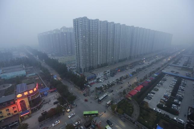 4月1日、中国政府は河北省に新たな経済特区を設置すると発表した。同省燕郊、2015年撮影(2017年 ロイター/Jason Lee)