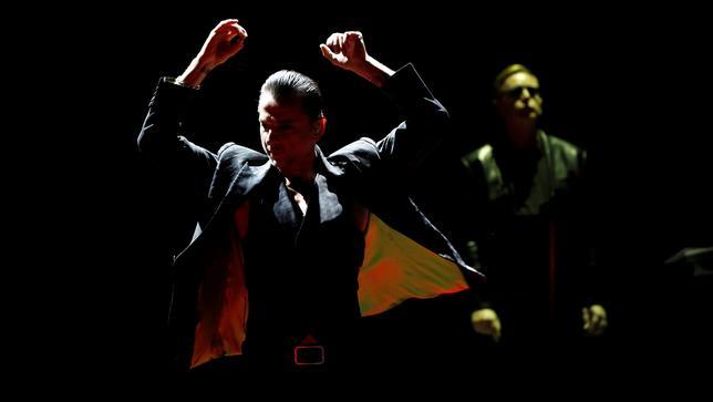 4月3日、英バンド「デペッシュ・モード」が、先月リリースした新作アルバム「スピリット」では、世界の現状について「人々が考える」ことを望んでいる、とロイターとのインタビューで述べた。もっと多くのミュージシャンにこうした歌を歌って欲しいという。写真は2013年9月ロサンゼルスで撮影(2017年 ロイター/Mario Anzuoni)