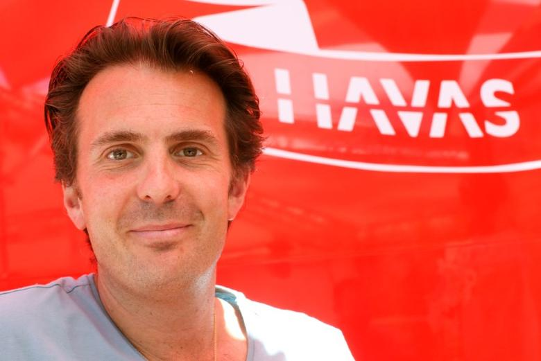 Yannick Bollore, Chairman and Chief Executive Officer of Havas poses during an interview with Reuters during the Cannes Lions Festival in Cannes, France, June 23, 2016.  REUTERS/Eric Gaillard