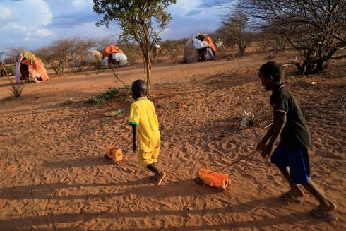 Displaced by drought in Somalia
