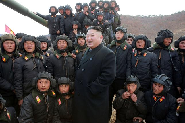 North Korean Leader Kim Jong Un.    KCNA/via REUTERS