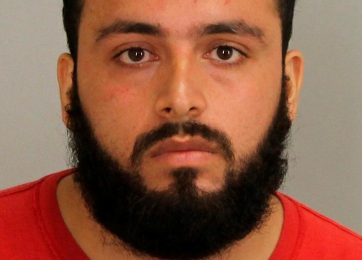 Ahmad Rahimi, 28, is shown in Union County, New Jersey, U.S. Prosecutor's Office photo released on September 19, 2016.  Courtesy Union County Prosecutor's Office/Handout via REUTERS