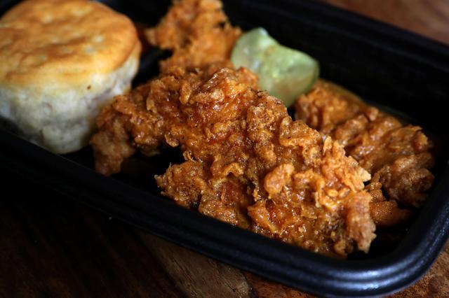 KFC tenders.   REUTERS/Carlo Allegri
