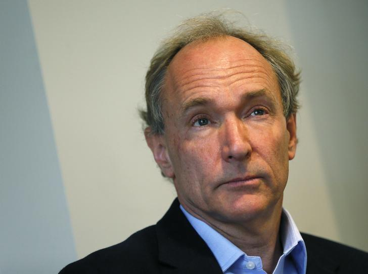 World Wide Web founder Tim Berners-Lee attends a news conference in London December 11, 2014. REUTERS/Stefan Wermuth/Files