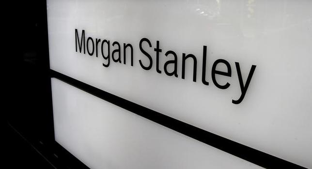 FILE PHOTO: The logo of Morgan Stanley is seen at an office building in Zurich, Switzerland September 22, 2016.  REUTERS/Arnd Wiegmann/File Photo