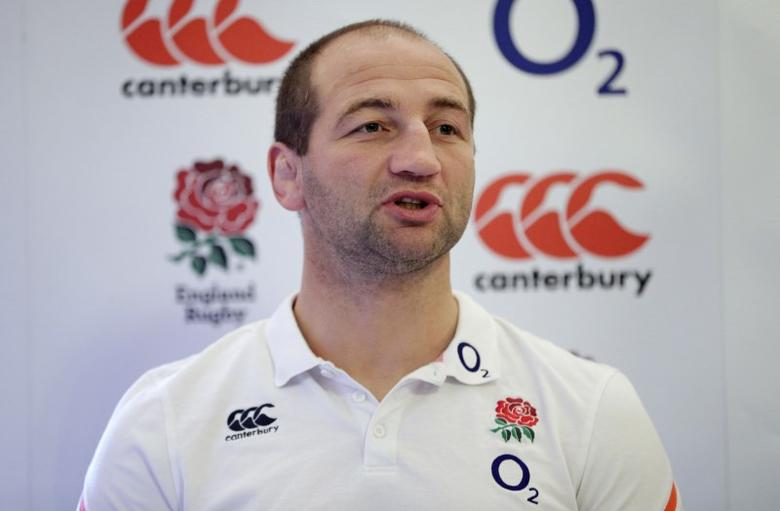 Britain Rugby Union - England Press Conference - Pennyhill Park, Bagshot, Surrey - 2/2/17 Steve Borthwick during the press conference  Action Images via Reuters / Henry Browne Livepic